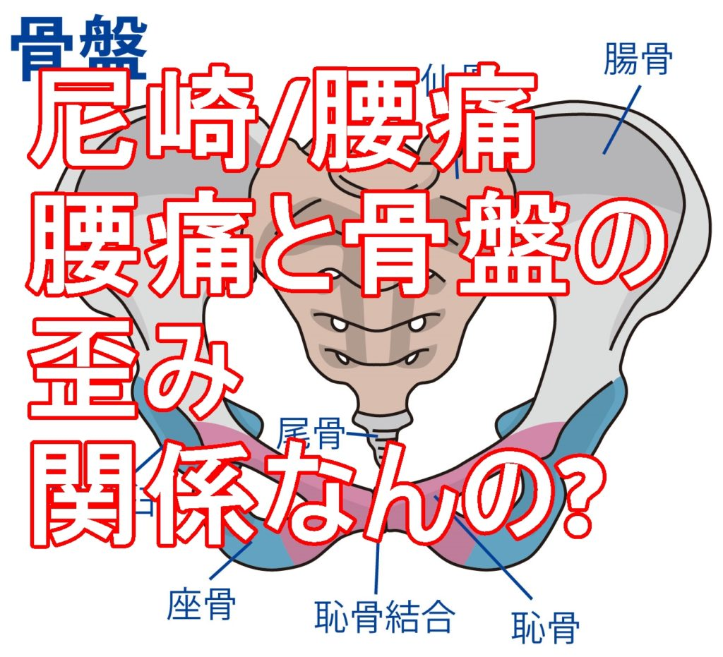 尼崎/腰痛ー腰痛と骨盤の歪みは本当に関係あんの?